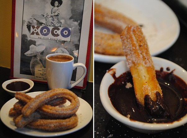 XOCO Churros With Mexican Hot Chocolate Recipes — Dishmaps
