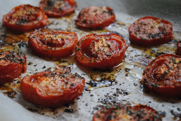 Oven Roasted Tomatoes - My Halal Kitchen | Inspiration for Wholesome ...